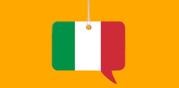 Un día para aprender palabras en italiano