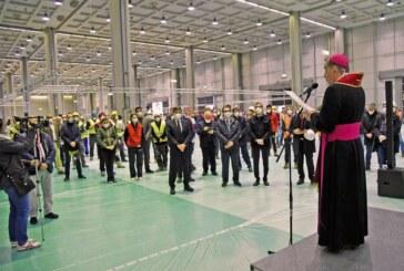 Coronavirus: arcivescovo Delpini dà benedizione a ospedale Fiera
