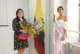 Maria Luisa Piras realizó una visita oficial al Consulado General del Ecuador en Milán