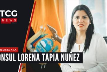 Entrevista a la Cónsul General del Ecuador en Milán, Lorena Tapia Nuñez