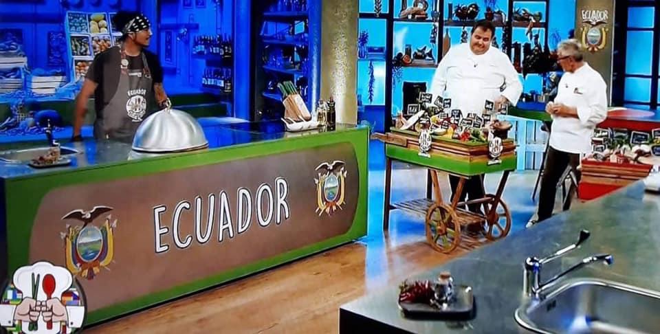 Lo chef ecuadoriano Andrés Serrano, accede alla semifinale di Cuochi d'Italia su La 8