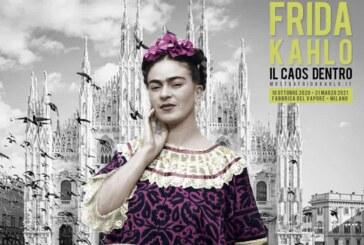 """Milano apre nuovamente le sue porte agli spazi culturali e presenta """"FRIDA KAHLO. IL CAOS DENTRO"""""""