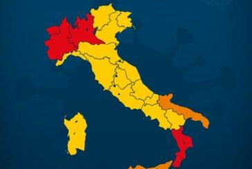 Nuovo DPCM: dal 5 novembre l'Italia divisa in tre zone