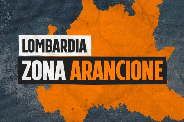 Milano: La Lombardia torna zona arancione