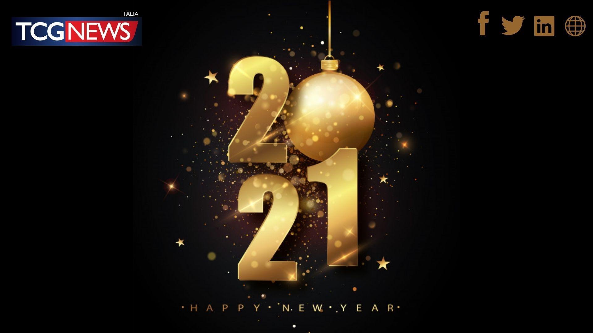Buon anno 2021 dalla Redazione di TCG News Italia