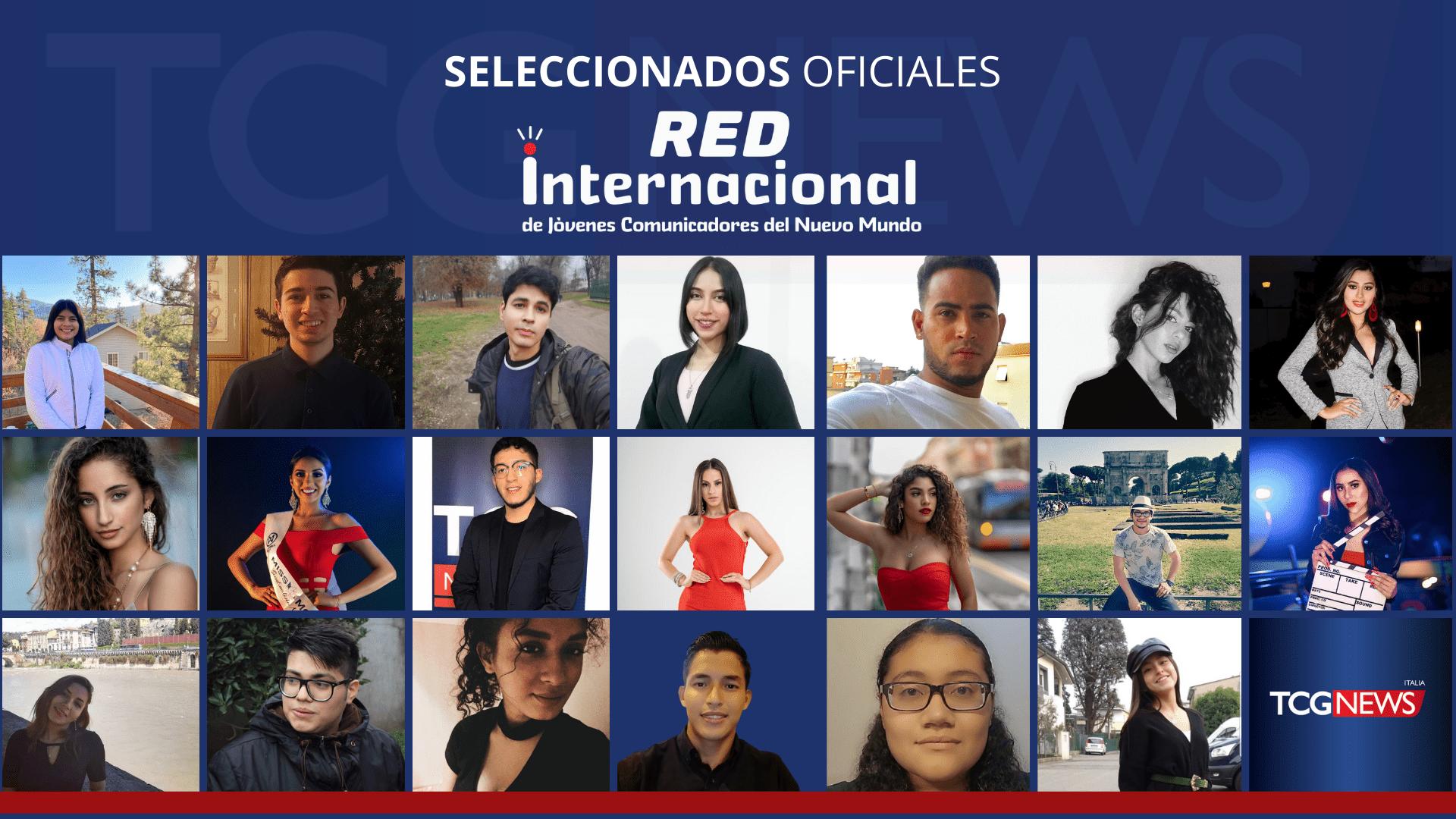 Conoce a los Seleccionados Oficiales de la Red Internacional de Jóvenes Comunicadores