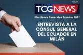 Entrevista a la Cónsul  Lorena Tapia Núñez