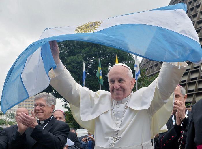 Una campaña argentina para celebrar a Papa Francisco