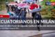 Ecuatorianos en Milán votan en elecciones de segunda vuelta