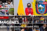 IMÁGENES: Segunda vuelta electoral Ecuador 2021.