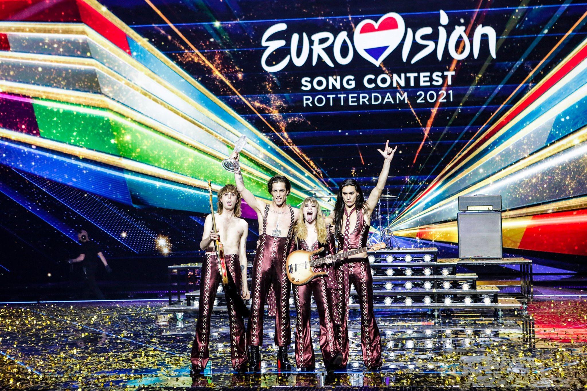 Eurovision 2021: vincono i Maneskin, l'Italia sul tetto d'Europa