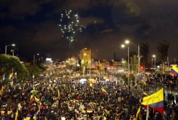 Paro nacional: las imágenes que dejó la marcha del sábado en Bogotá
