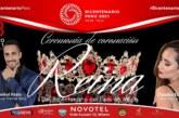 Ceremonia de coronación de la Reina del Bicentenario del Perú en Milán