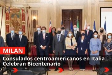 Consulados centroamericanos en Italia celebran Bicentenario