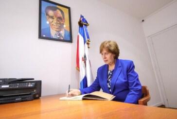 Entrevista a la Ministra de Cultura de la República Dominicana en su viaje oficial a Italia.