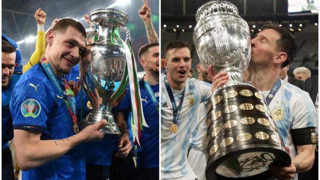 UEFA y CONMEBOL acuerdan un partido entre Italia y Argentina
